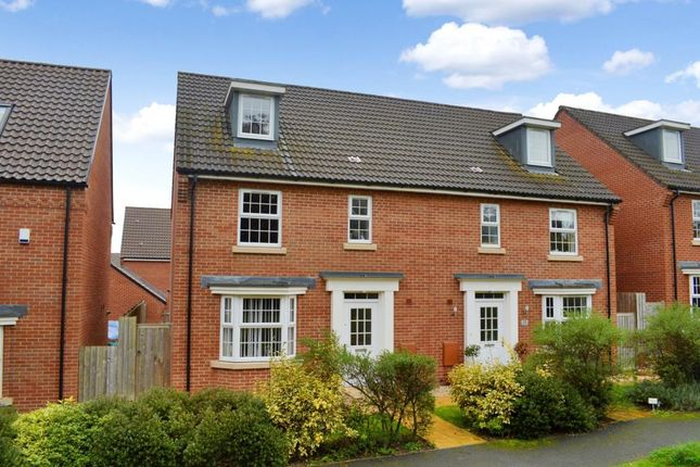 Thumbnail Semi-detached house for sale in Collett Road, Norton Fitzwarren, Taunton, Somerset