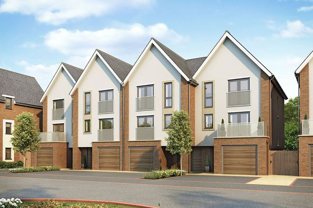 "Thumbnail Terraced house for sale in ""Lancaster Mid"" at Begbrook Park, Frenchay, Bristol"