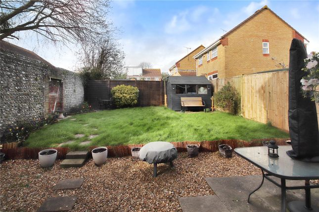 Rear Garden of Rosemead, Littlehampton BN17