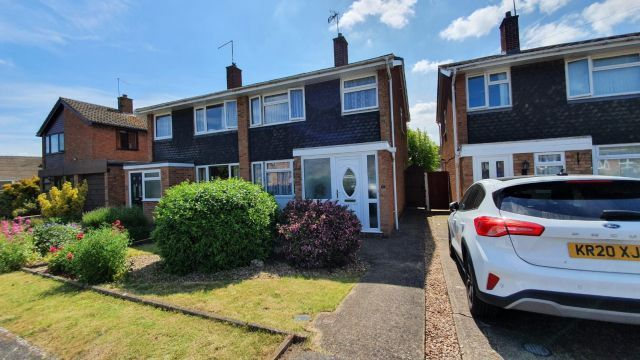 Thumbnail Semi-detached house for sale in Swale Close, Roade, Northampton