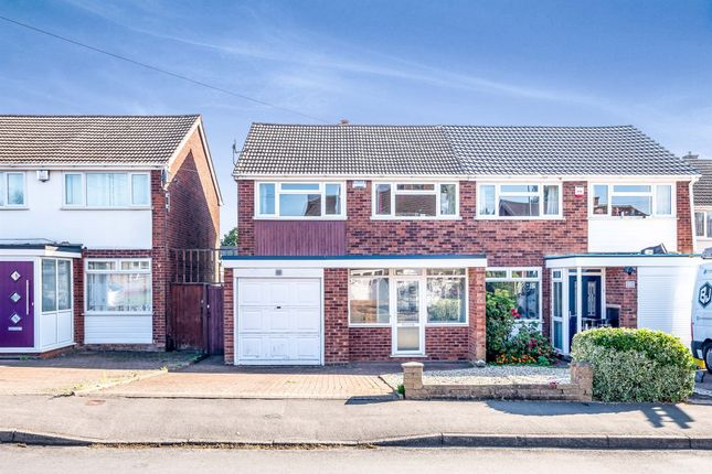 Thumbnail Semi-detached house for sale in Nicholas Road, Streetly, Sutton Coldfield