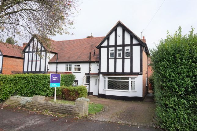 Thumbnail 3 bed semi-detached house to rent in Corden Avenue, Derby