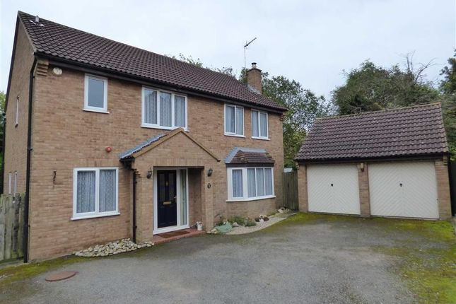 Thumbnail Detached house for sale in Scott Close, Daventry