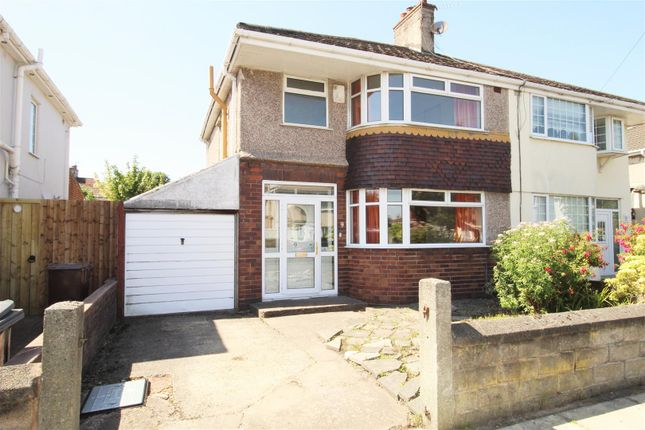 Thumbnail Semi-detached house for sale in Bradfield Avenue, Liverpool