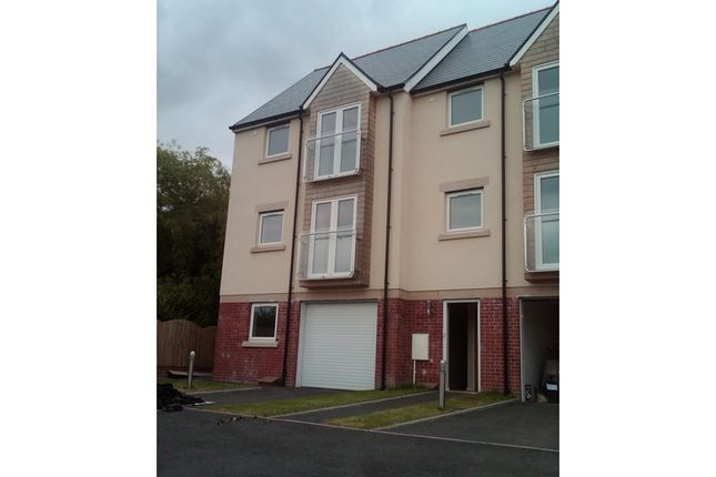 Thumbnail Town house for sale in Gwennallt Close, Alltwen, Pontardawe