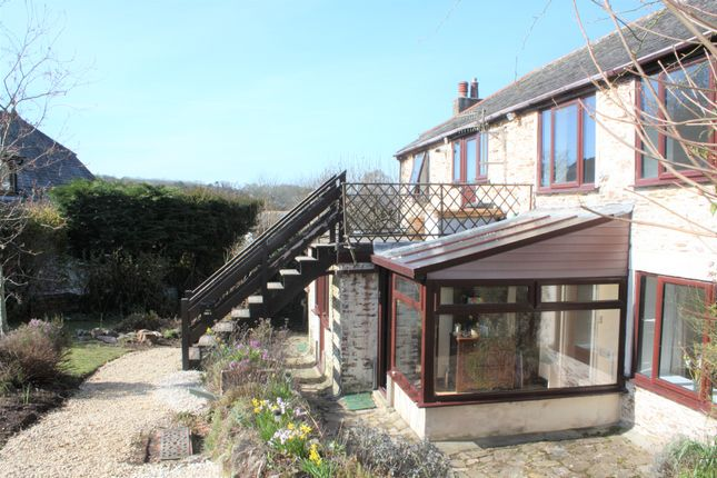Thumbnail Barn conversion for sale in Court Road, Newton Ferrers, South Devon