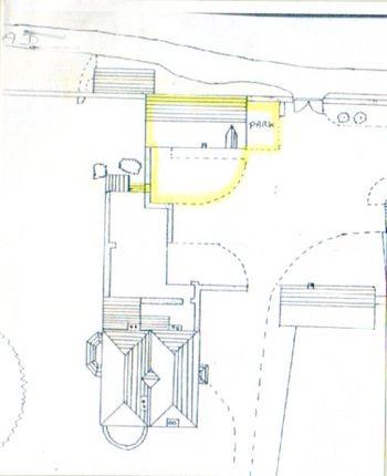 Site Plan of Foy Hall, Foy, Ross-On-Wye HR9