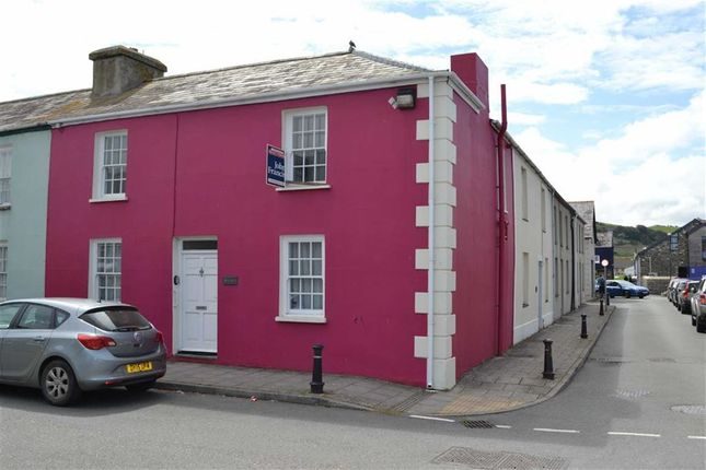 Thumbnail End terrace house for sale in Tabernacle Street, Aberaeron, Ceredigion