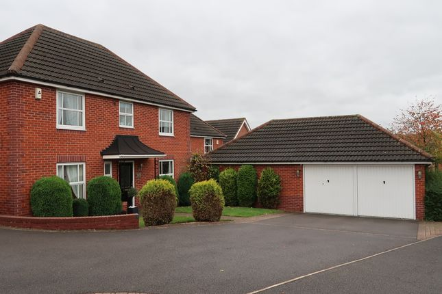 Thumbnail Detached house to rent in Meadowlark Close, Sutton-In-Ashfield