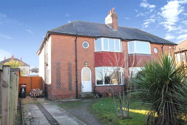 Thumbnail Semi-detached house for sale in Kingsley Road, Harrogate