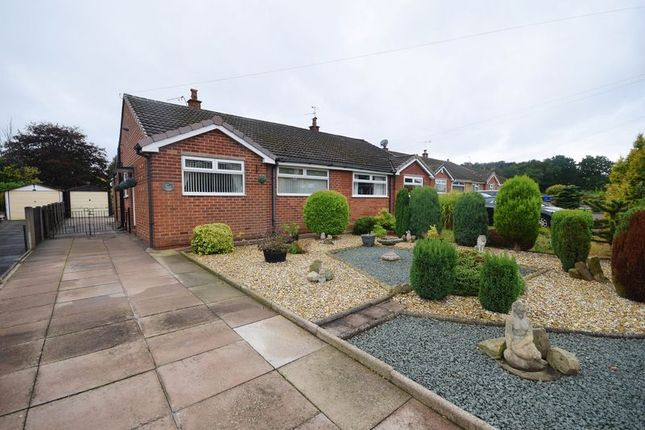 Thumbnail Semi-detached bungalow for sale in Braemar Close, Stoke-On-Trent