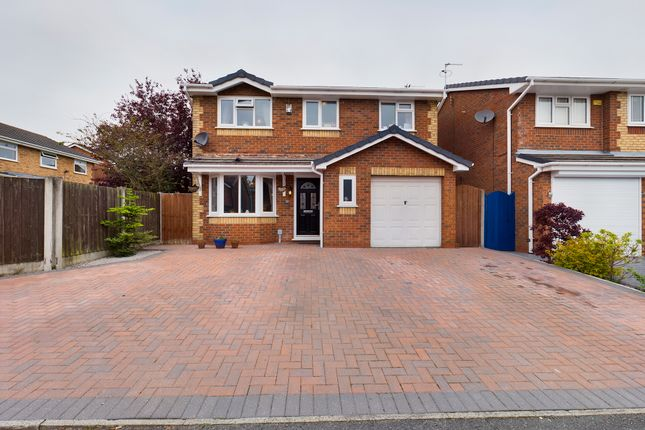 Thumbnail Detached house for sale in Sandstone Drive, Whiston, Prescot