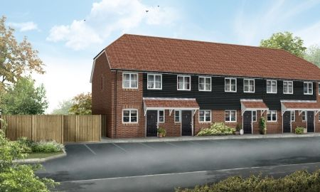 Thumbnail Terraced house for sale in Heron Fields, Sittingbourne, Kent
