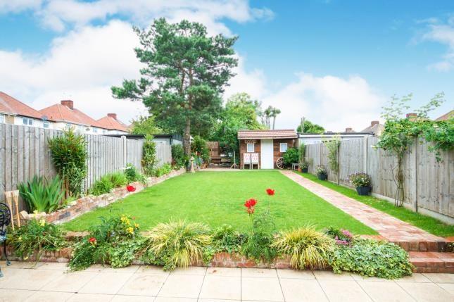 Garden of Vivian Avenue, Wembley, Middlesex, England HA9