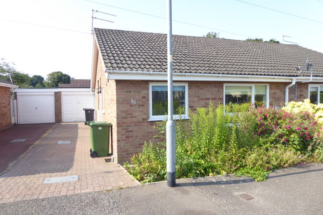 Thumbnail Semi-detached bungalow to rent in Silver Gardens, Belton, Great Yarmouth