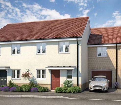 Thumbnail Semi-detached house for sale in Fornham Place At Marham Park, Off Tut Hill, Bury St Edmunds