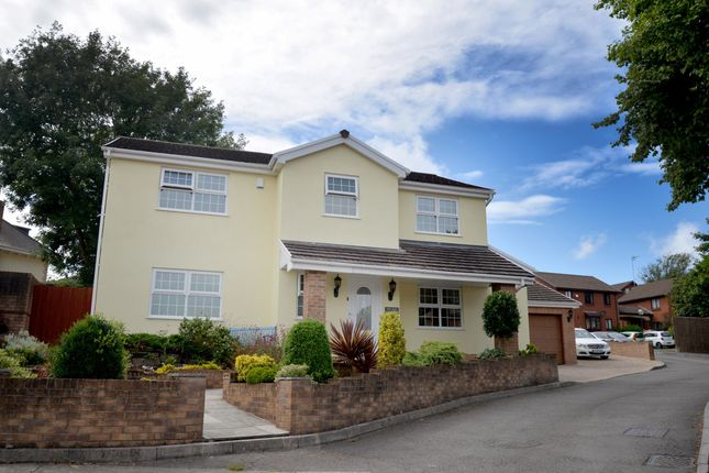 Thumbnail Property for sale in Llwynderw Close, West Cross, Swansea
