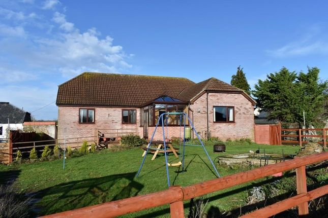 Thumbnail Detached house for sale in North End, Creech St. Michael, Taunton, Somerset