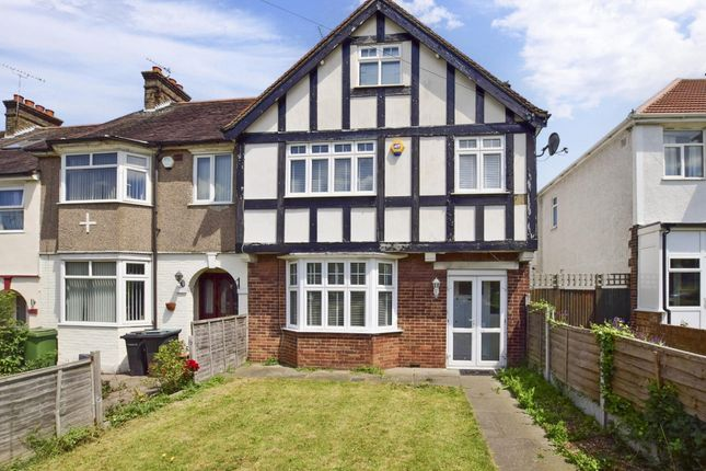 Thumbnail End terrace house to rent in Whitehill Lane, Gravesend
