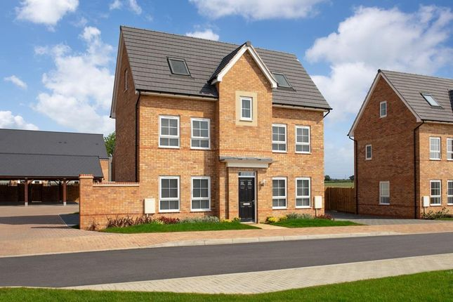 "Thumbnail Detached house for sale in ""Hexham"" at Fen Street, Brooklands, Milton Keynes"