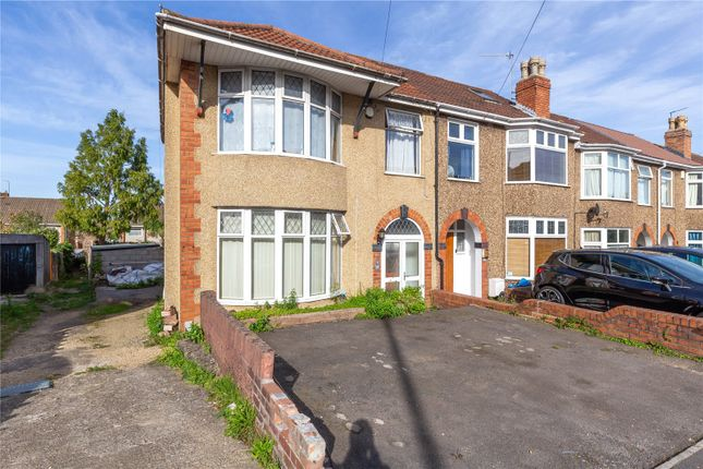 Thumbnail End terrace house to rent in Clovelly Road, St George, Bristol