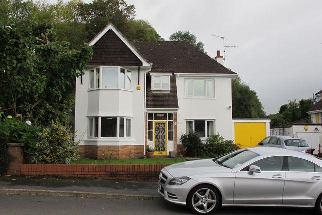 Thumbnail Detached house to rent in Court Crescent, Bassaleg, Newport