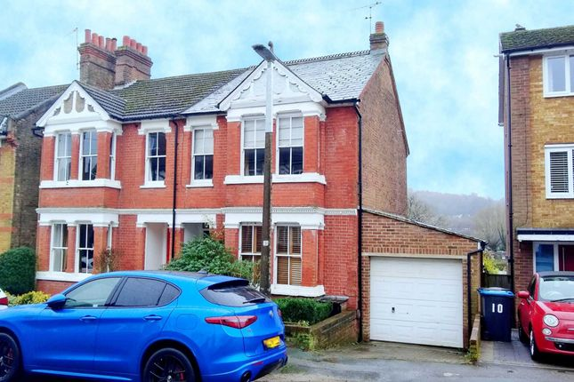 Thumbnail Semi-detached house for sale in Moorland Road, Boxmoor