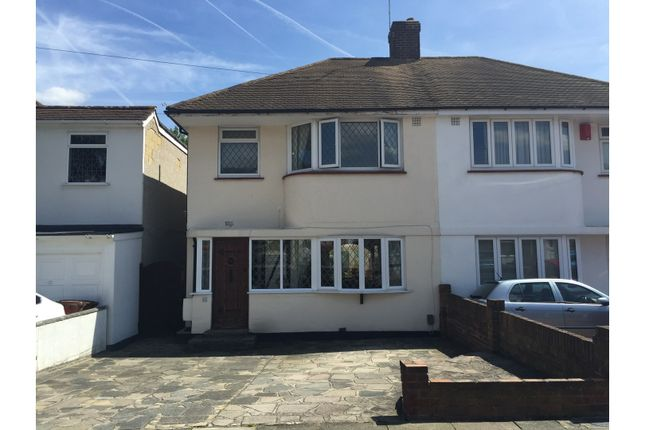 Thumbnail Semi-detached house for sale in Radnor Avenue, Welling