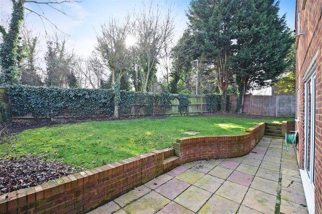 Rear Garden of Old Barn Road, Leybourne, West Malling, Kent ME19