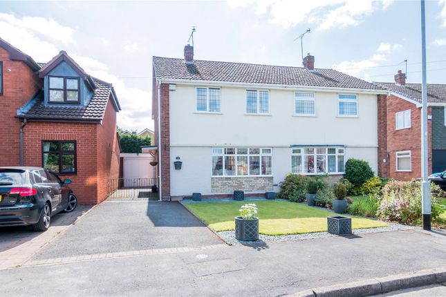 Semi-detached house for sale in The Nurseries, Coven, Wolverhampton, Staffordshire WV9