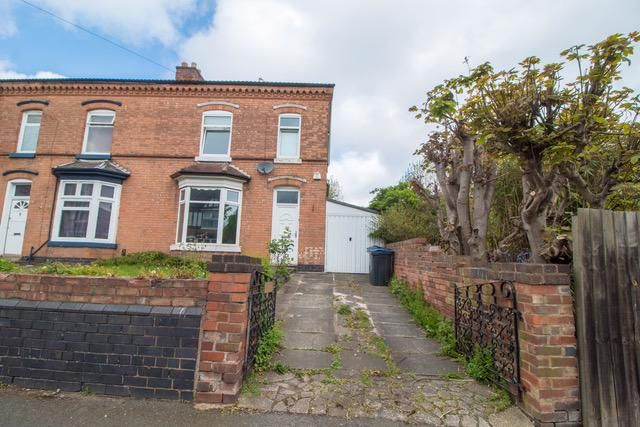 Thumbnail Semi-detached house for sale in 26 Trafalgar Road, Erdington, Birmingham