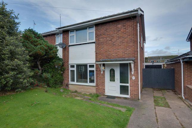 Semi-detached house for sale in Bracken Way, Rugeley