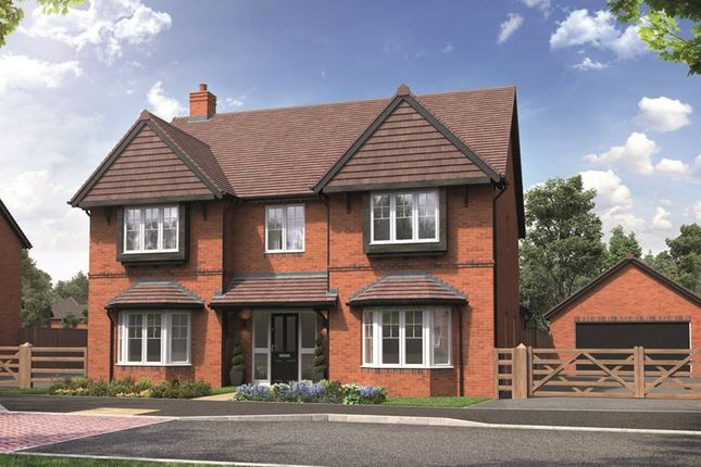 """Thumbnail Detached house for sale in """"The Solville"""" at School Road, Salford Priors, Evesham"""