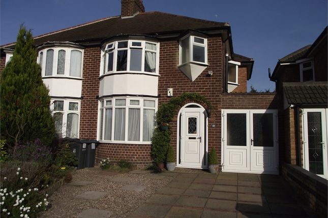 Thumbnail Semi-detached house for sale in Rymond Road, Hodge Hill, Birmingham