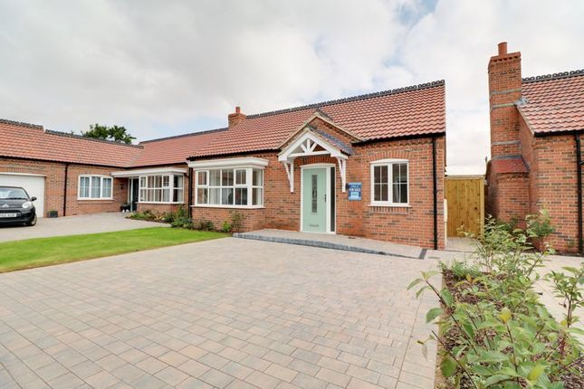 Thumbnail Detached bungalow for sale in Plot 6, The Normanby, Rye Walk Off East Street, Hibaldstow, Brigg