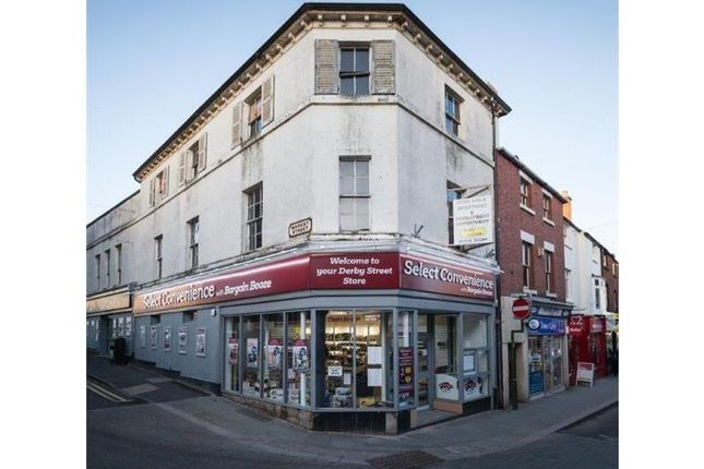 Thumbnail Retail premises for sale in 35, Derby Street, Leek, Staffordshire, UK