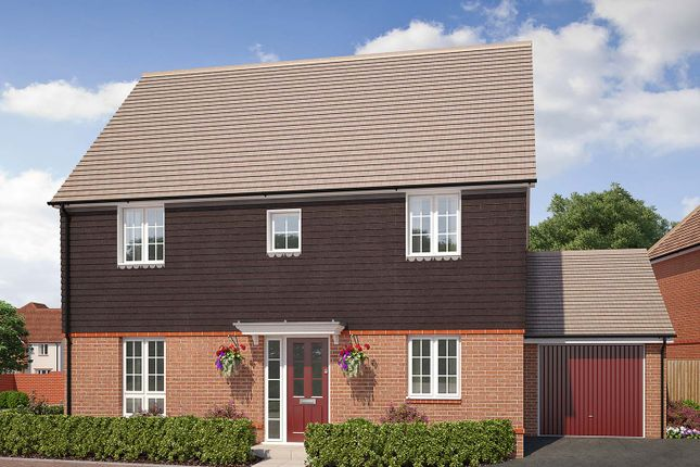 "Thumbnail Detached house for sale in ""The Windsor"" at Saunders Way, Basingstoke"
