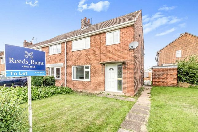 3 bed semi-detached house to rent in Deer Leap Drive, Thrybergh, Rotherham, South Yorkshire S65