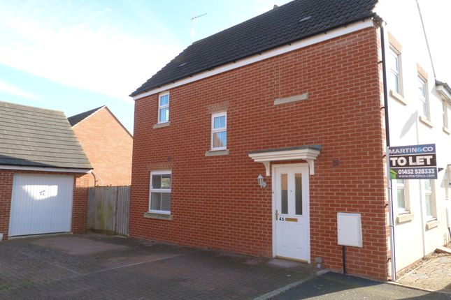 Thumbnail Detached house to rent in Boddington Drive, Kingsway, Gloucester