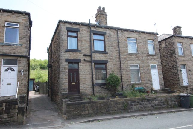 Thumbnail End terrace house for sale in Commonside, Hanging Heaton, Batley