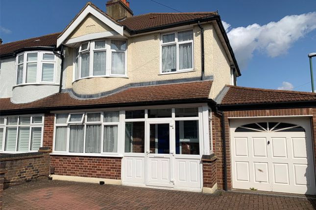 Thumbnail End terrace house for sale in Gomshall Avenue, Wallington
