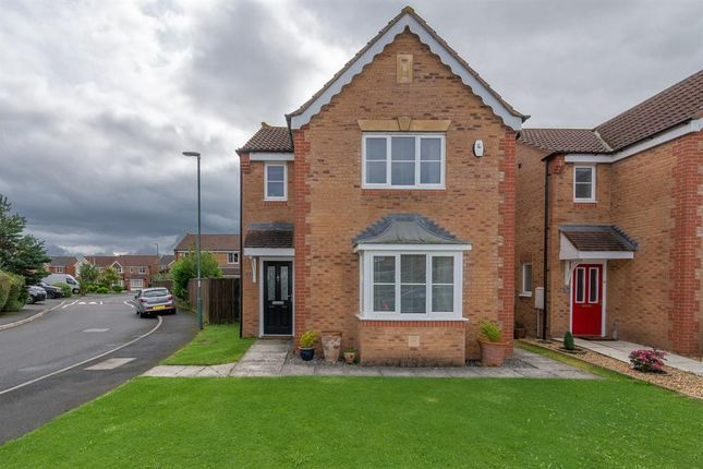 Thumbnail Detached house for sale in Newbell Court, Consett