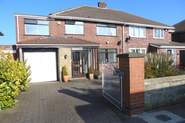 Thumbnail Semi-detached house for sale in Altway, Old Roan, Liverpool