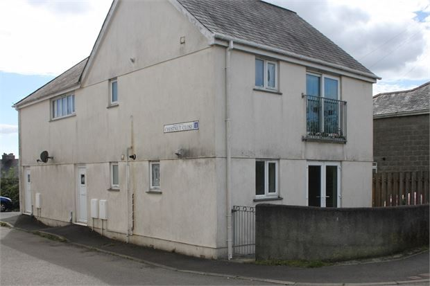 Thumbnail Flat to rent in Chestnut Close, Station Road, Bere Alston, Devon.