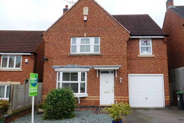 Thumbnail Detached house for sale in Lilley Close, Selston, Nottingham