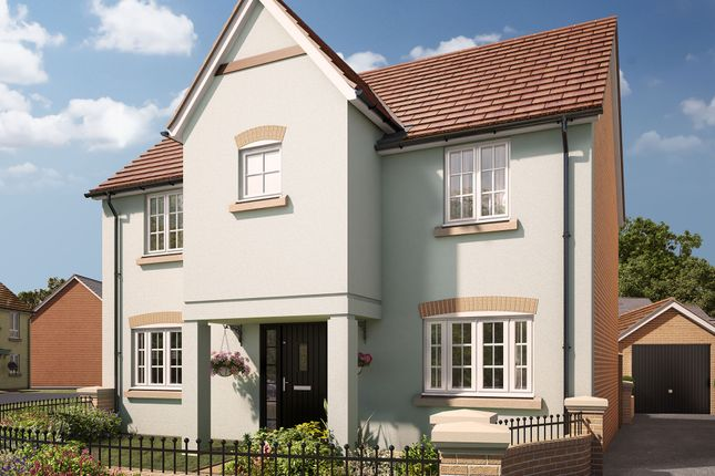 "Thumbnail Detached house for sale in ""The Northleigh"" at Swallow Field, Roundswell, Barnstaple"