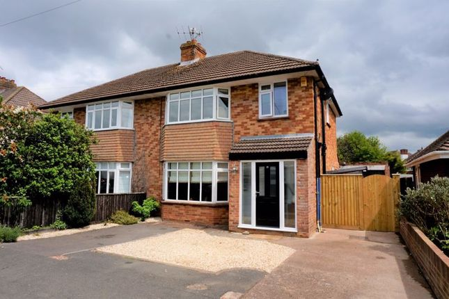Thumbnail Semi-detached house for sale in Henley Road, Taunton