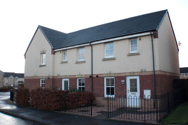 Thumbnail End terrace house to rent in Reid Crescent, Bathgate