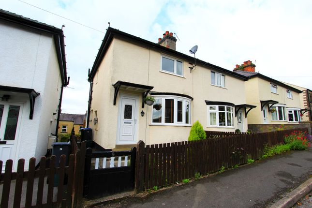 Thumbnail 2 bed semi-detached house for sale in Drabbles Road, Matlock