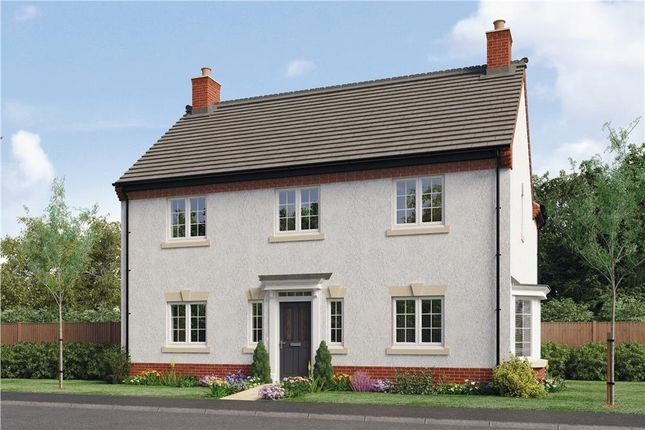 """Thumbnail Detached house for sale in """"Birchwood"""" at Woodcock Way, Ashby-De-La-Zouch"""